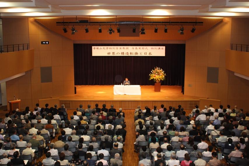 寺島特別客員教授による公開講座