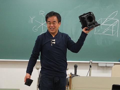 佐藤さんによるカメラの解説