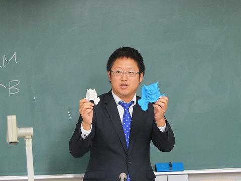 田中さんによる3Dモデリングの解説