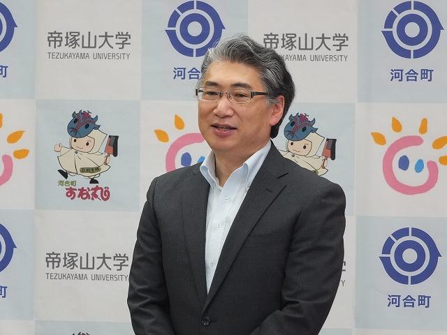 岩井学長による代表者挨拶