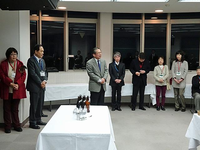 吉川理事長の開会挨拶