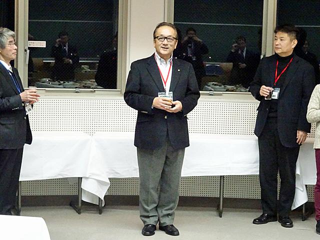 岡島ファミリークラブ会長による乾杯のご発声