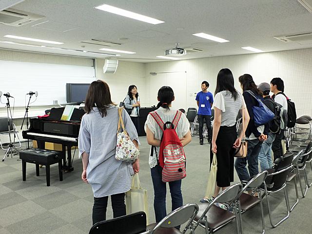 学園前キャンパス見学ツアー(こども学科)