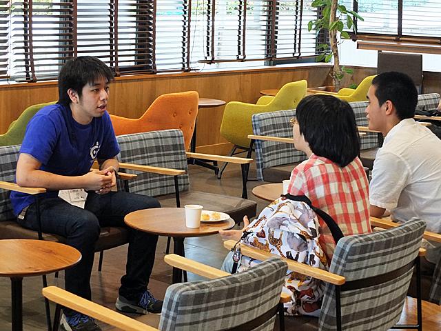 先輩とトークDEカフェ at TEZUKAYAMA FOREST CAFE