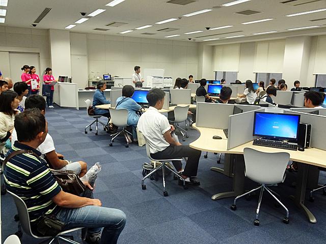 東生駒キャンパス見学ツアー・学科体験授業にも多数ご参加いただきました