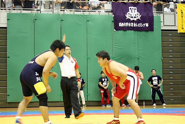フリースタイル125kg級 野村選手 試合開始