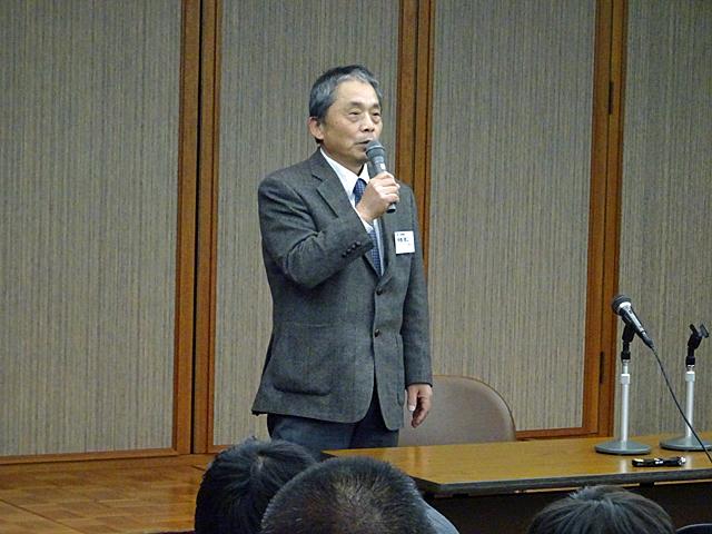 奈良県中小企業家同友会北和支部 中西啓二支部長のご挨拶